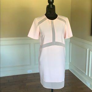 ✨NWOT✨ASOS Light Pink SS Sheer Line Detailed Dress